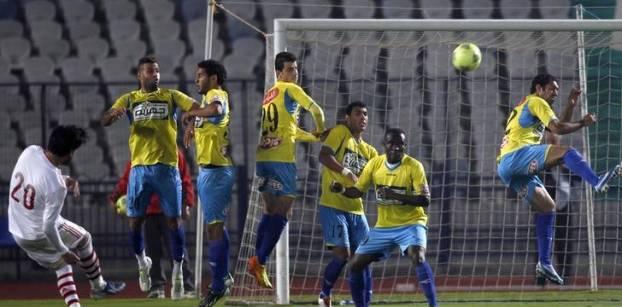 الإسماعيلي يتعادل سلبيا مع طنطا في الدوري العام المصري