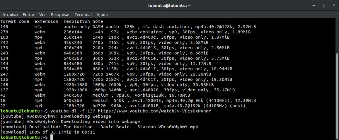 Linux dicas e suporte: Youtube-dl atualizado no seu Debian, Ubuntu e