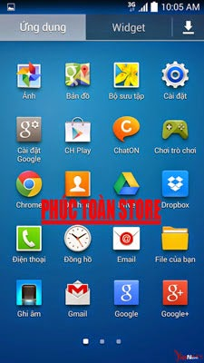 Tiếng Việt Samsung E300l alt