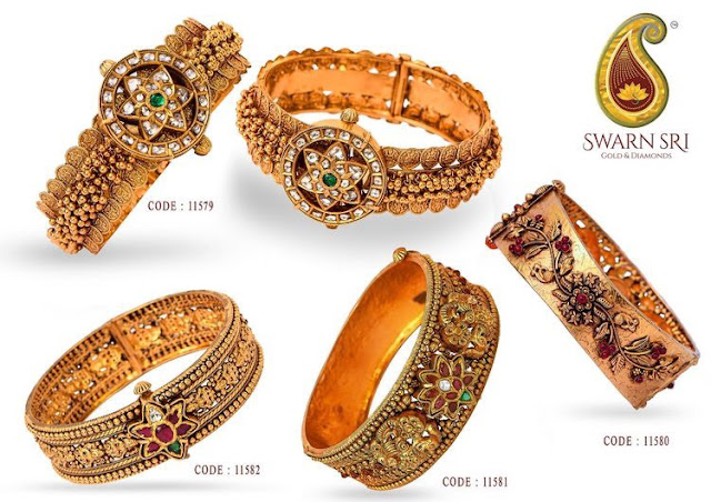 Antique Bangles from Swarn Sri