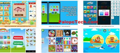 Game edukasi Anak Android PAUD TK SD