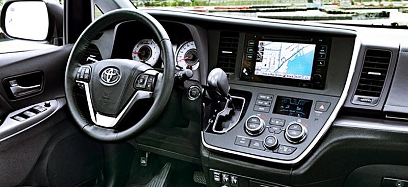 Toyota Sienna 2018 Interior Price Spec