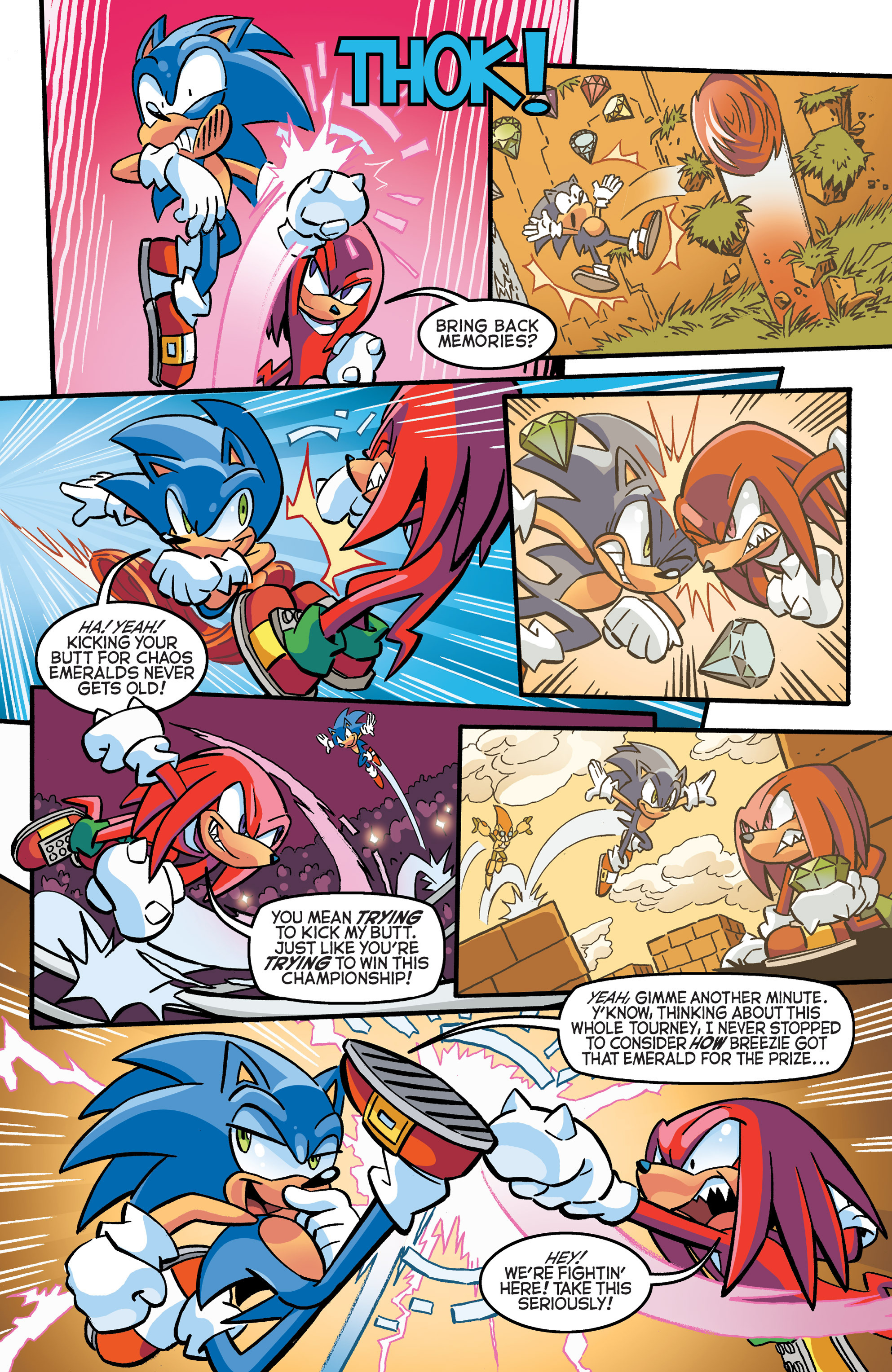 Read online Sonic The Hedgehog comic -  Issue #271 - 4