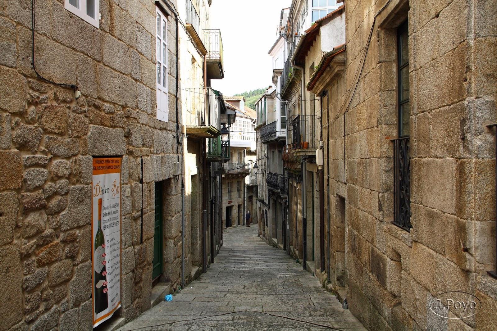 Callejuelas barrio judío de Ribadavia