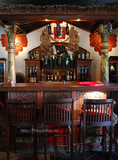 Bar at Hotel Tugu Bali