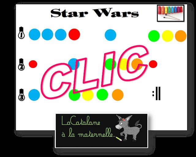 Star Wars - métallophone (LaCatalane)