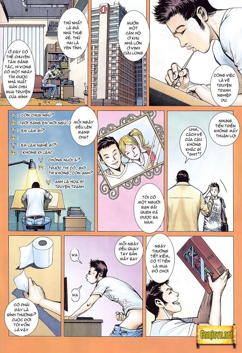 Dã Lang Và Marry chap 1 - Trang 10