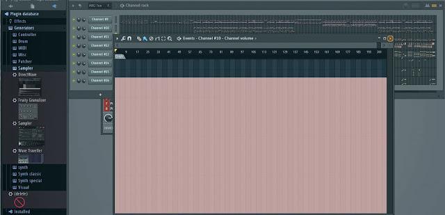 Mengatur Volume Midi Di FL Studio Supaya Saat Diputar Tidak Kembali Ke Semula