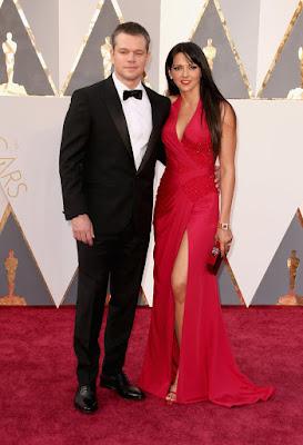 Matt Damon Oscars 2016