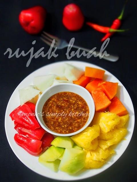 Gambar Rujak Buah Segar : gambar, rujak, segar, Rujak, Monic's, Simply, Kitchen
