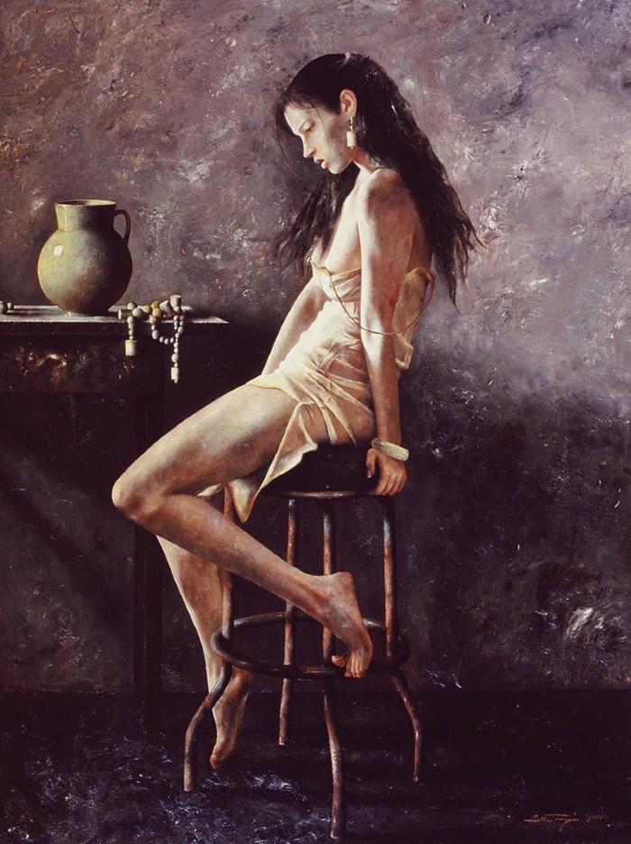 Академическая живопись. Lu JianJun 21