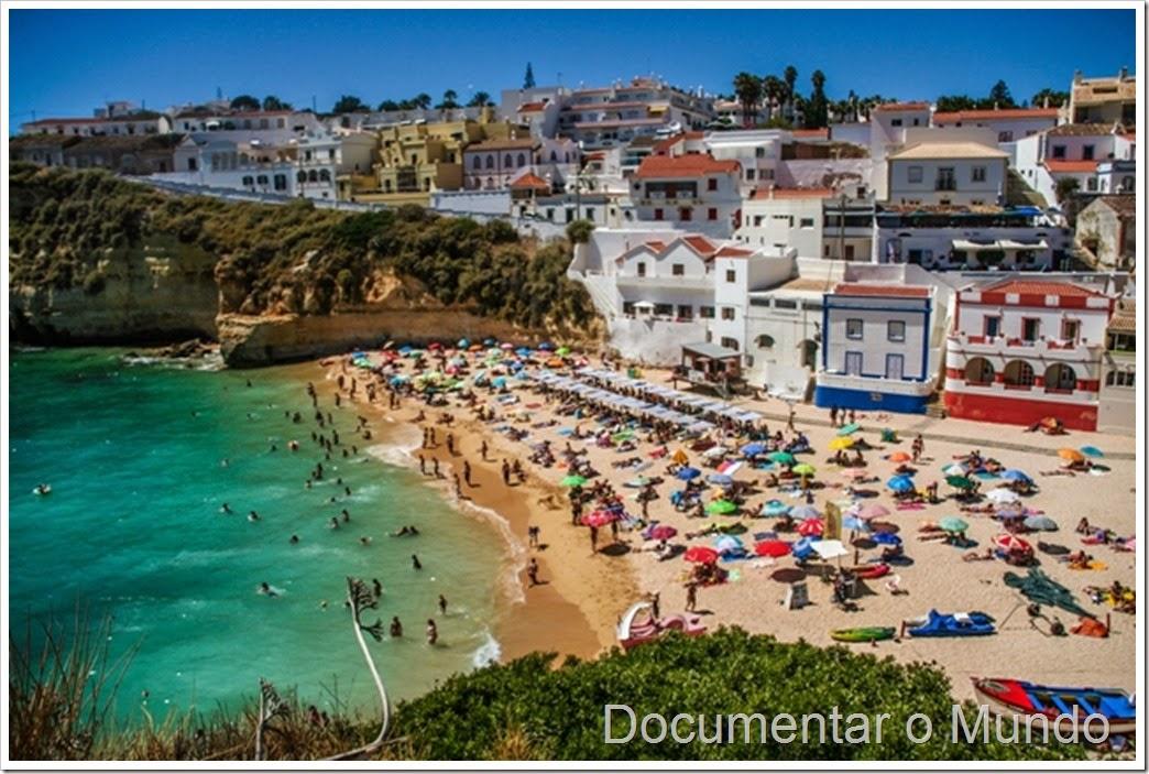 Praia do Carvoeiro; Praias do Concelho da Lagoa; Praias no Algarve