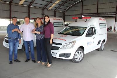 Prefeitura de Registro-SP adquire 2 ambulâncias e amplia capacidade de atendimento a acamados