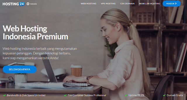 Web Hosting terbaik Indonesia - Hosting24