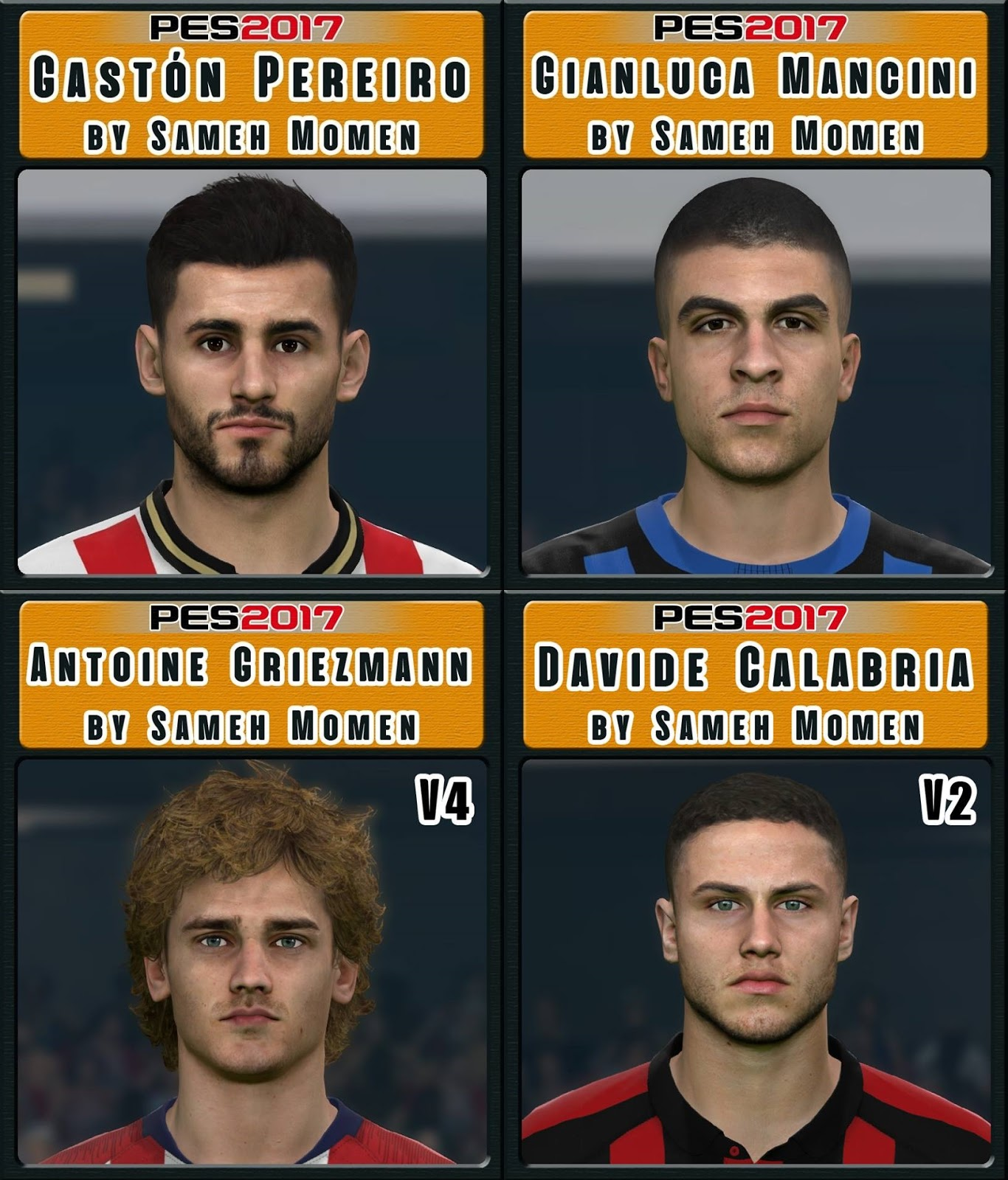 Pes 2017 L Moura Face By Sameh Momen: Free PES Patch And FIFA Updates