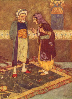 Arabian nights-Edward Dulac