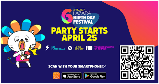 Lazada's 6th Birthday Sale - Flash Sale Deals (Day 1, April 25)