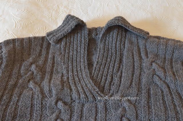 męski sweter Lima Drops alpaka