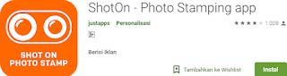 shoton aplikasi watermark di android