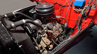 1950 Mercury M-47 Pickup Engine 02