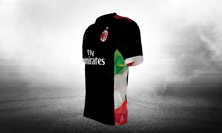 brand new 7908a fe32d Top 100 AC Milan 17-18 Third Kits Revealed - Footy Headlines
