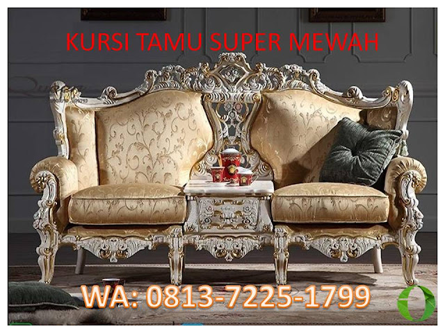 KURSI TAMU SUPER MEWAH