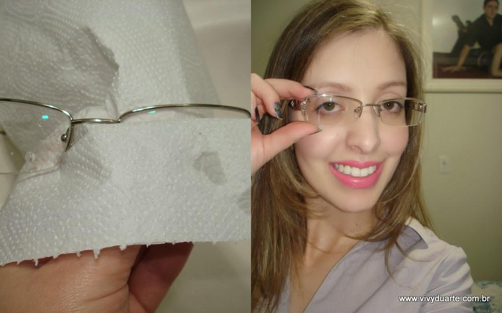 Vivy Duarte  Como Limpar Seus Óculos de Grau 83834fae79