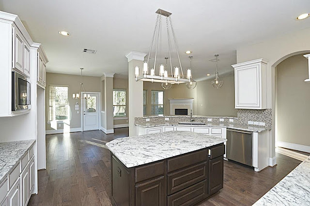 Farmhouse-Open Concept-Kitchen Island- From My Front Porch To Yours