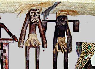 Kisah Topeng Raja Hantu, Topeng Buta Suku Dayak Kalimantan