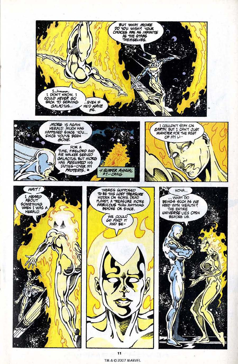 Read online Silver Surfer (1987) comic -  Issue #97 - 13