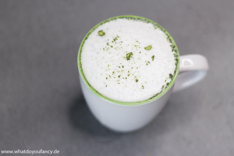 Rezept Iced Matcha Latte