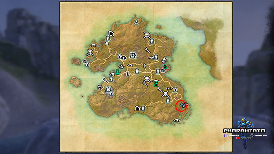 Summerset Treasure Map 2 - World Map Zoomed Out