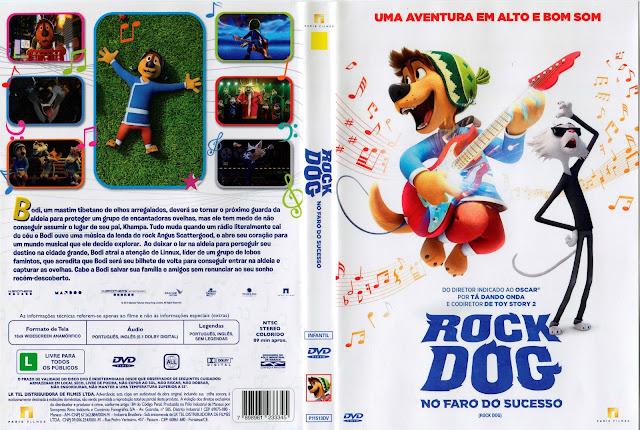 Capa DVD Rock Dog: No Faro do Sucesso