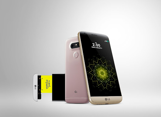 LG debuts its first ever modular smartphone, LG G5 with metal design and slide-out battery