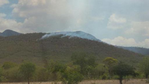 Bahia Sem Fogo intensifica combate à incêndio no município de Saúde