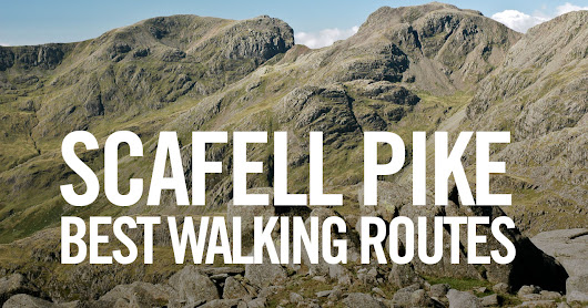 Scafell Pike Walk - best map routes