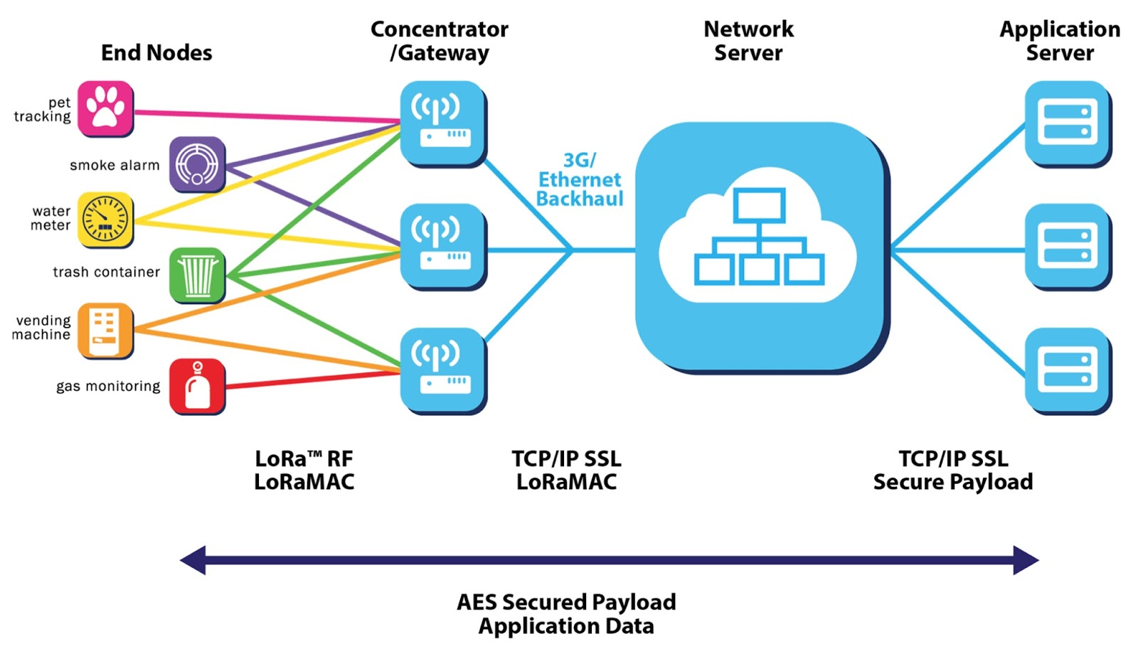 Network Server Where All The Management Functionality Is