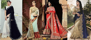 Searching For Perfect Designer Party Wear Sarees? Online Shopping Is The Ultimate Solution.
