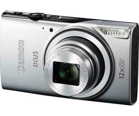 Canon IXUS 275 HS Digitalkamera - 1080p - 20,2 MP - Silber