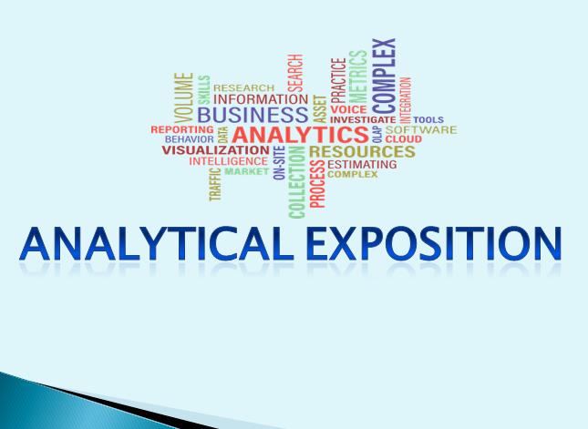 Analytical Exposition Pengertian Tujuan Generic
