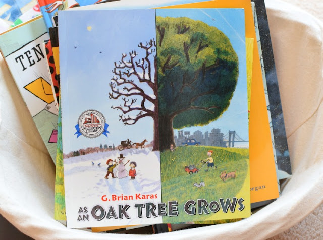 As An Oak Tree Grows, part of August reading roundup favorite book selections