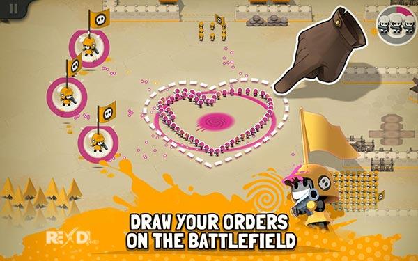 تحميل Tactile Wars مهكرة اخر اصدار
