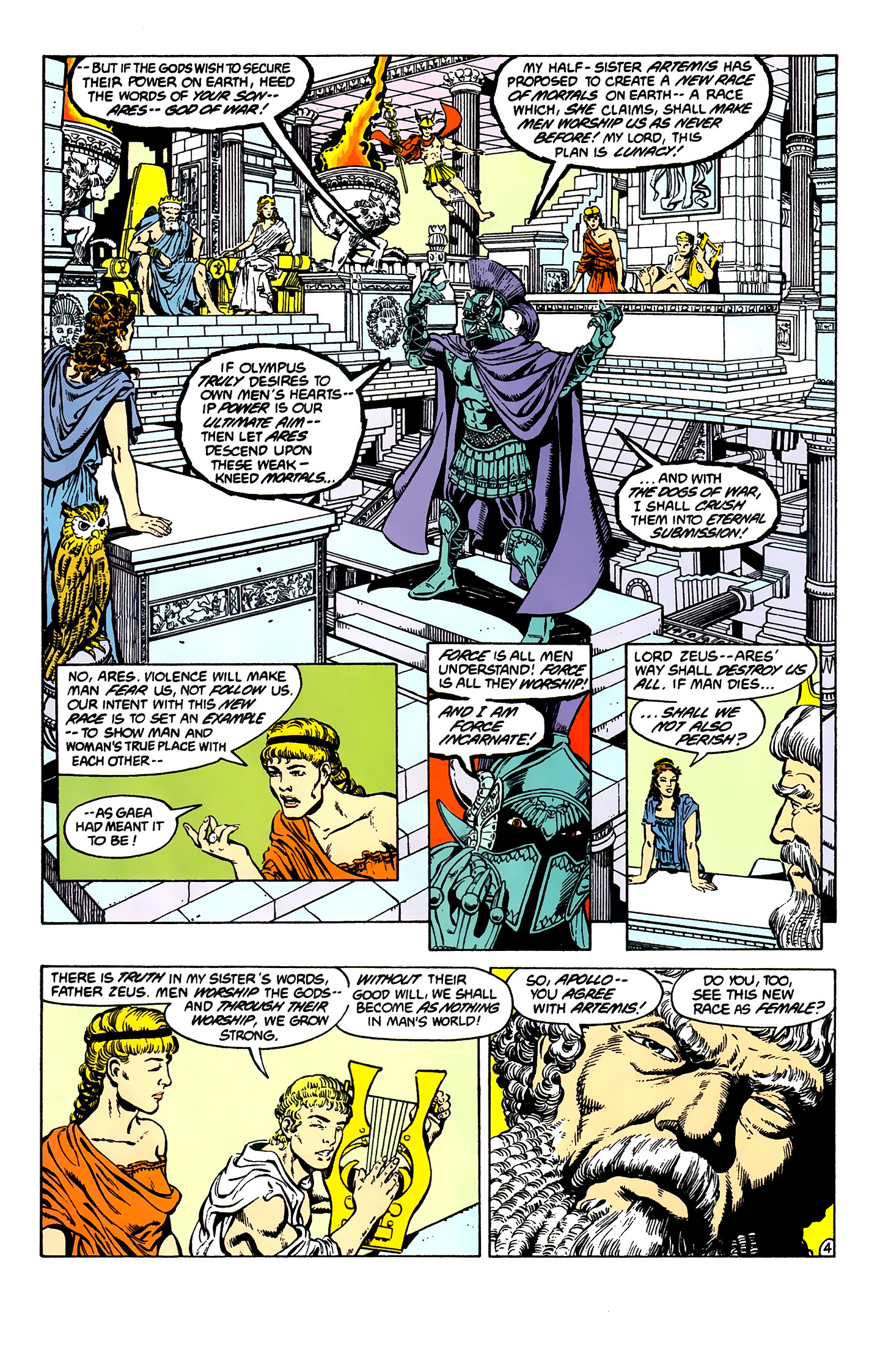 Read online Wonder Woman (1987) comic -  Issue #1 - 6