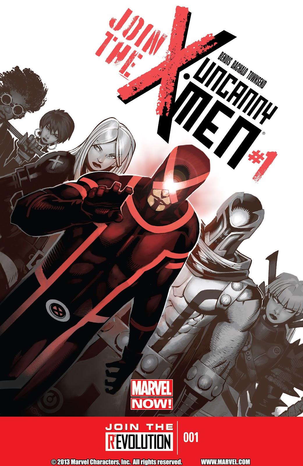 Uncanny X-Men (2013) issue 1 - Page 1