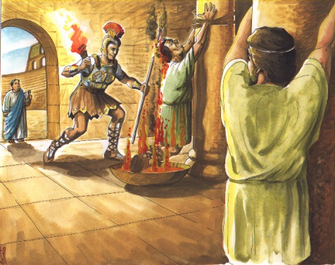 Esclavo azotado en el cepo - 3 part 6