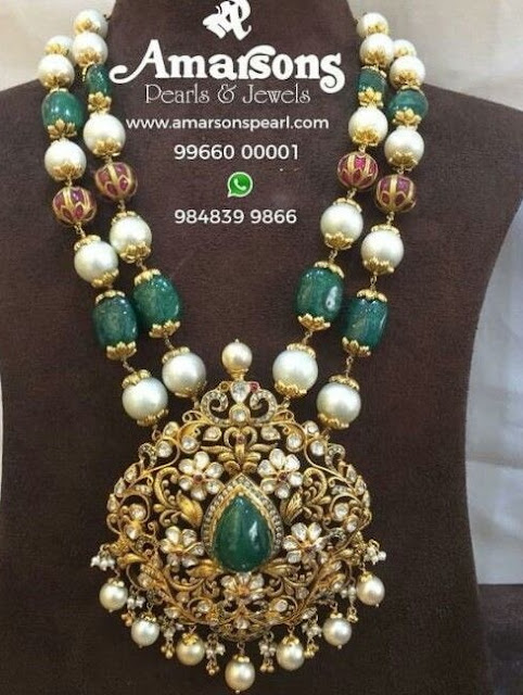 Two Layer Beads Set by Amarsons Jewels