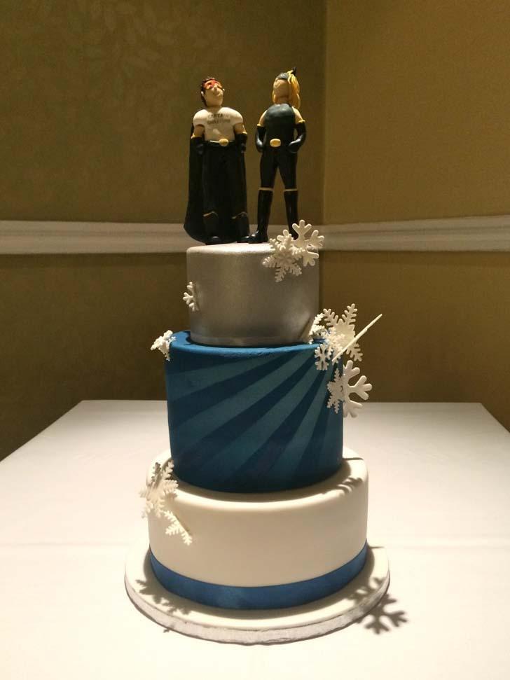 Superhero Wedding Cake   Cake Magazine