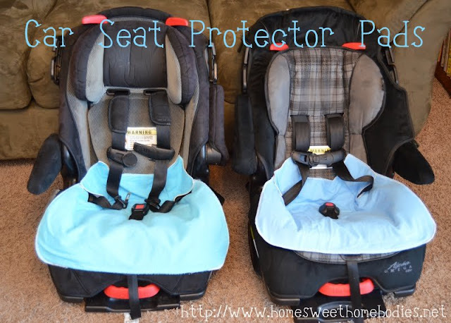Car Seat Protector Pads - Home Sweet Homebodies