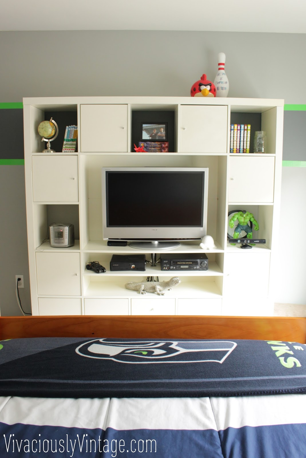 Ansley Designs: Minus a Bed, Plus an IKEA Entertainment ...
