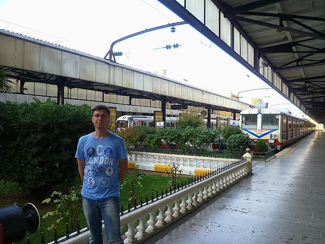 Стамбул, вокзал Сиркеджи (Istanbul, Sirkeci station)